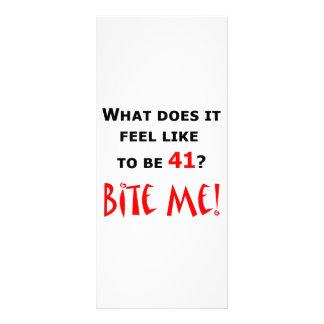 41 Bite Me Customized Rack Card