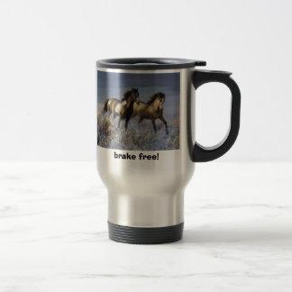 41, brake free! travel mug
