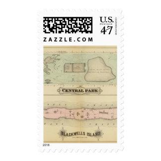 41 Central Park, Blackwells Island Postage