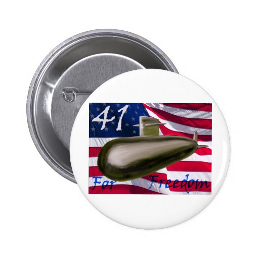 41 for Freedom Pin