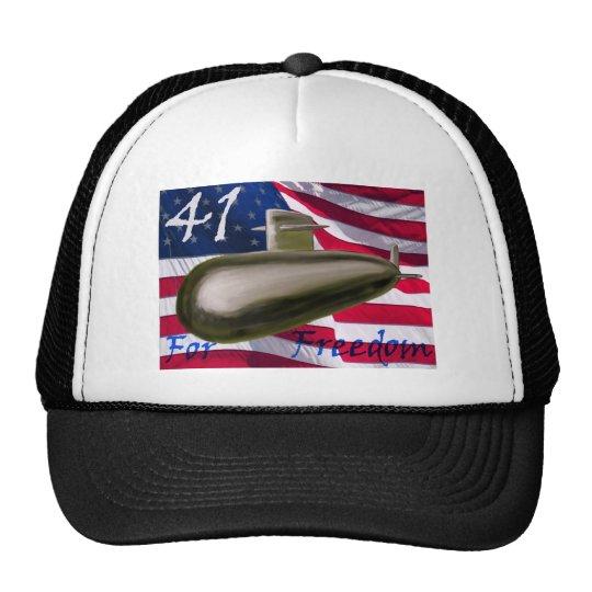 41 for Freedom Trucker Hat