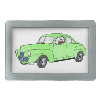 41 Ford Coupe Rectangular Belt Buckles