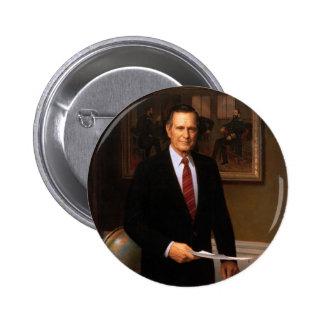 41 George H. W. Bush Pinback Button