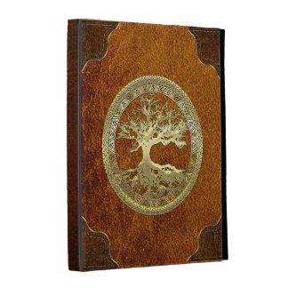 [41] Golden Celtic Tree of Life iPad Folio Covers
