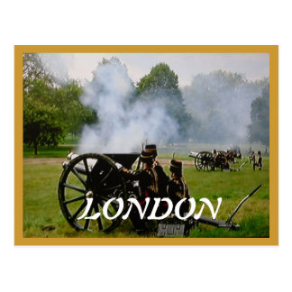 41 Guns Salute Queen's Diamond Jubilee postcard