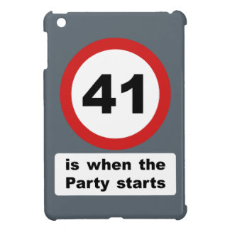41 is when the Party Starts iPad Mini Covers