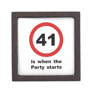 41 is when the Party Starts Jewelry Box