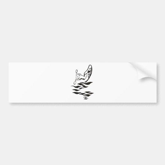41 Kayak Stern Bumper Sticker