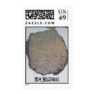 $.41 meteorite stamp - New Westville