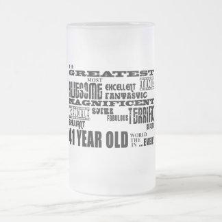 41.o Años más grandes de la fiesta de cumpleaños Taza De Cristal