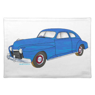 41 Oldsmobile Series 76 Placemat