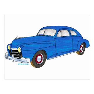 41 Oldsmobile Series 76 Postcard