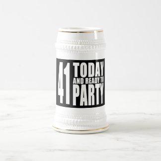41.os cumpleaños divertidos: 41 hoy y aliste para jarra de cerveza