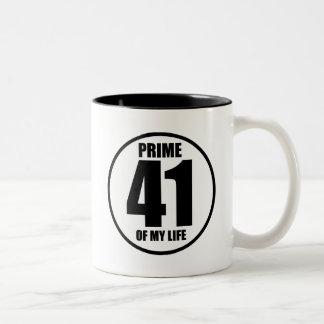 41 - prima de mi vida taza de dos tonos