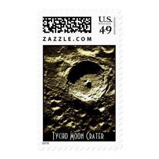 $.41 Sello del meteorito - cráter de luna de Tycho