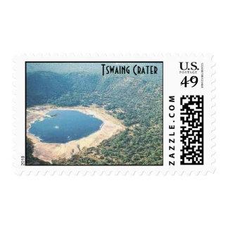 $.41 Sellos del meteorito - cráter de Tswaing
