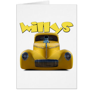 41 willys coupe card