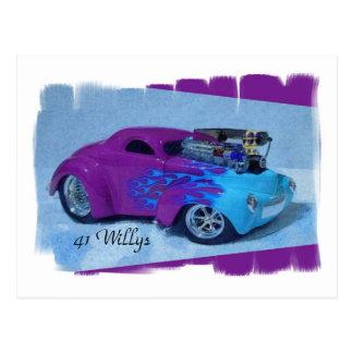 41 Willys Postcard