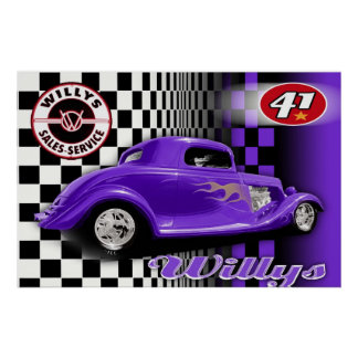 41 Willys Poster