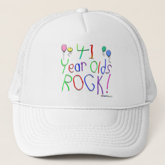 41 Year Olds Rock ! Trucker Hat
