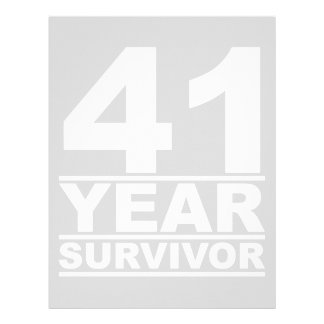 41 year survivor letterhead
