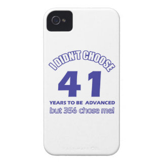 41 years advancement Case-Mate iPhone 4 case