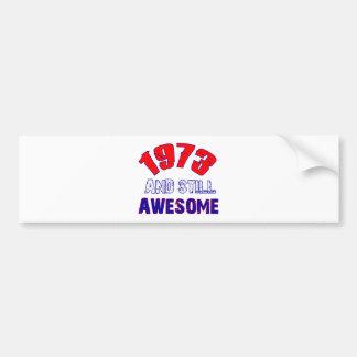 41 years old Birthday Designs Bumper Sticker