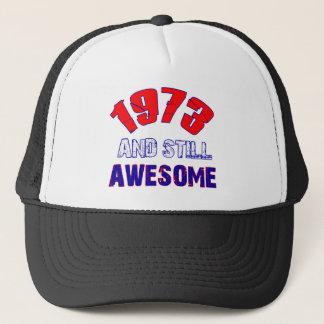 41 years Old birthday designs Trucker Hat