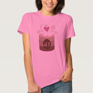 41st Birthday Gift Ideas For Her T Shirts