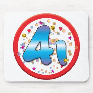 41st Birthday Mousemat