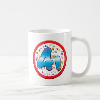 41st Birthday Coffee Mugs