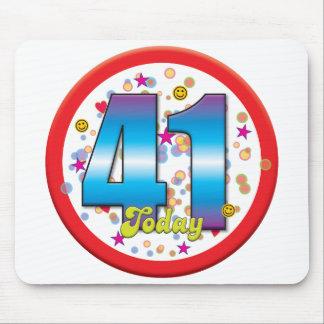 41st Birthday Today v2 Mouse Mat