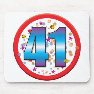 41st Birthday v2 Mouse Pads