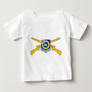 41st Infantry Regiment W/Crossed Infantry Rifles Baby T-Shirt