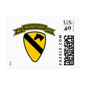 41st IPSD - 1st Cavalry Stamps