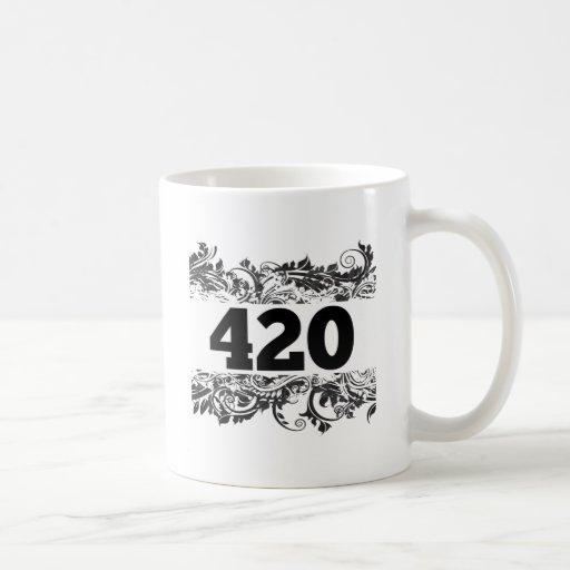 420 CLASSIC WHITE COFFEE MUG