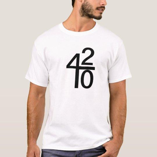 420 Math T-Shirt