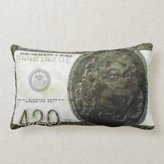 420 Note Pillow