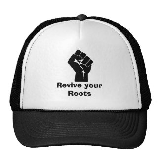 421px-Fist, Revive your Roots Trucker Hat