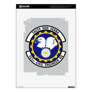 421st Civil Engineer Squadron iPad 3 Decal