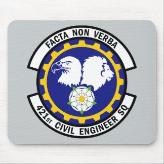421st Civil Engineer Squadron Mouse Pad