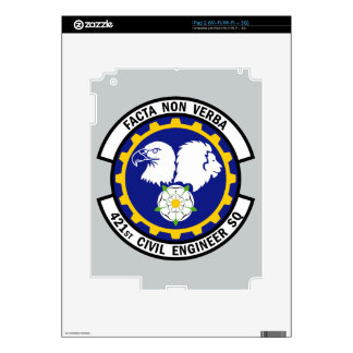 421st Civil Engineer Squadron Skins For iPad 2