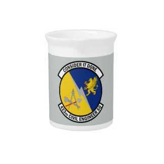 423rd Civil Engineer Squadron - Consider It Done Beverage Pitcher
