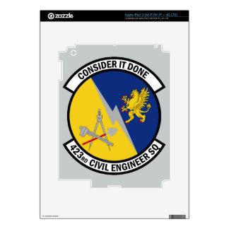 423rd Civil Engineer Squadron - Consider It Done iPad 3 Skin