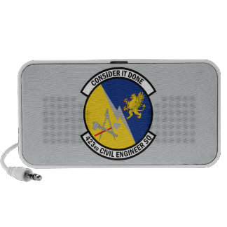 423rd Civil Engineer Squadron - Consider It Done iPhone Speakers