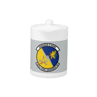 423rd Civil Engineer Squadron - Consider It Done Teapot