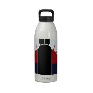 424o Remiendo de la escuadrilla de la bomba Botellas De Agua Reutilizables