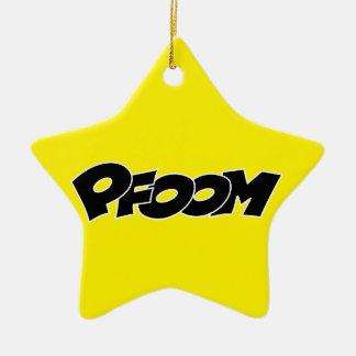 4269 SONIDOS negros del vector COMICBOOK del pfoom Adorno De Reyes