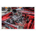 426 Hemi Engine Print