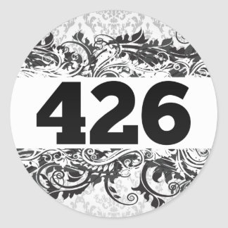 426 PEGATINA REDONDA